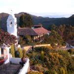 Гора Монсеррате, г. Богота